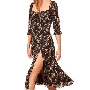 Reformation Marnie midi dress